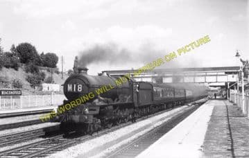 Beaconsfield Railway Station Photo. Gerrards Cross - High Wycombe. GCR & GWR (20)