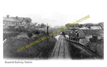 Beamish Railway Station Photo. Pelton - Annfield Plain. Washington Line. (1)..