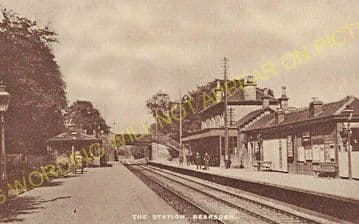 Bearsden Railway Station Photo. Westerton - Hillfoot. Glasgow to Milngavie (4)