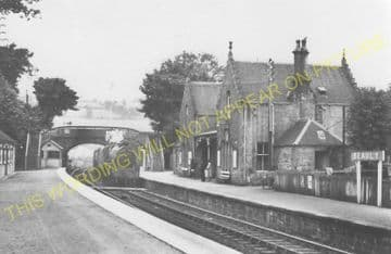 Beauly Railway Station Photo. Clunes to Muir of Ord. Inverness to Dingwall (10)