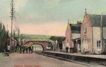 Beauly Railway Station Photo. Clunes to Muir of Ord. Inverness to Dingwall (11)