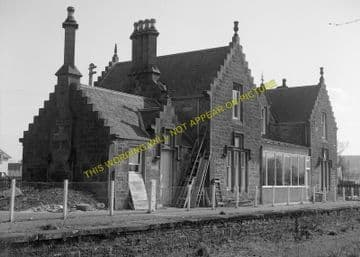 Beauly Railway Station Photo. Clunes to Muir of Ord. Inverness to Dingwall (2)