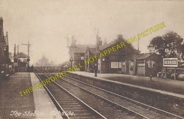 Bebside Railway Station Photo. Bedlington - Newsham. Morpeth to Tynemouth. (1)