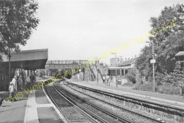 Beckenham Hill Railway Station Photo. Bellingham - Ravensbourne. SE&CR. (2)