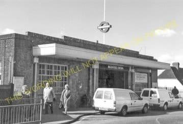 Becontree Underground Railway Station Photo. Barking to Dagenham & Upminster (1)