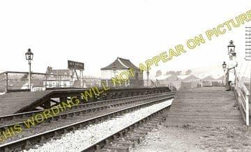 Beddau Railway Station Photo. Treforest - Cross Inn. Llantrisant Line. (1)