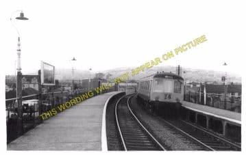 Beddau Railway Station Photo. Treforest - Cross Inn. Llantrisant Line. (2)