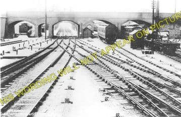 Bedford Midland Road Railway Station Photo. Midland Railway. (1)..