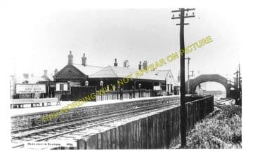 Bedlington Railway Station Photo. Bebside to Choppington and North Seaton (3)