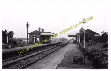 Bedworth Railway Station Photo. Nuneaton - Hawkesbury Lane. Coventry Line. (3)