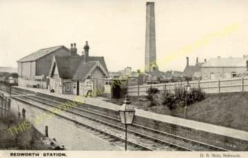 Bedworth Railway Station Photo. Nuneaton - Hawkesbury Lane. Coventry Line. (5)