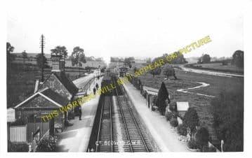 Bedwyn Railway Station Photo. Hungerford - Savernake. Newbury to Pewsey (1)