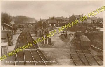 Beechburn Railway Station Photo. Wear Valley Junction - Crook. Tow Law Line (2)