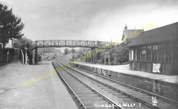 Beechburn Railway Station Photo. Wear Valley Junction - Crook. Tow Law Line (3).