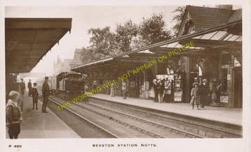 Beeston Railway Station Photo. Nottingham - Attenborough. Trent Line. (2)
