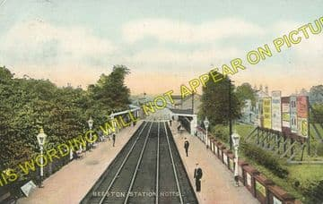 Beeston Railway Station Photo. Nottingham - Attenborough. Trent Line. (3).