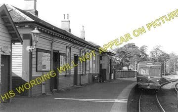 Beith Town Railway Station Photo. Barrmill and Lugton Line. Caledonian & GSW (1)..