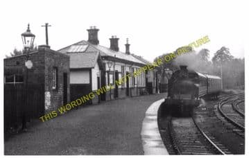Beith Town Railway Station Photo. Barrmill and Lugton Line. Caledonian & GSW (3)