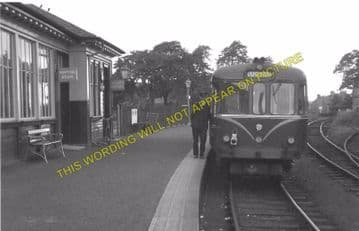 Beith Town Railway Station Photo. Barrmill and Lugton Line. Caledonian & GSW (5)