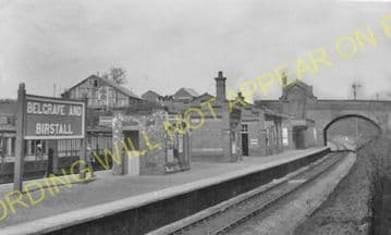 Belgrave & Birstall Railway Station Photo. Leicester to Rothley. Quorn Line (23)