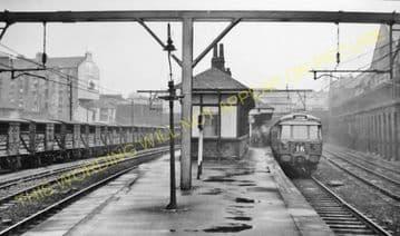 Bellgrove Railway Station Photo.  Glasgow - Parkhead. North British Railway. (2)