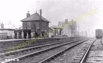 Bellingham Railway Station Photo. Reedsmouth - Tarset. Falstone Line (4)