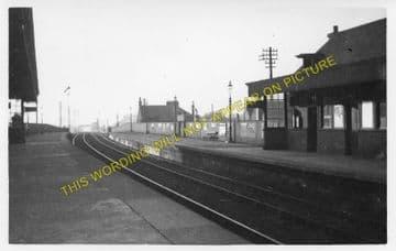 Bellshill Railway Station Photo. Mossend - Uddington. Caledonian Railway. (1)..