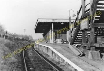 Belmont Railway Station Photo. Harrow & Wealdstone - Stanmore Line (5)