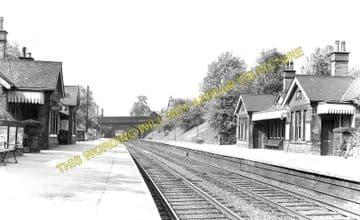 Belper Railway Station Photo. Duffield - Ambergate. Midland Railway (1)