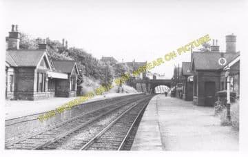 Belper Railway Station Photo. Duffield - Ambergate. Midland Railway (2)