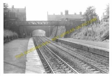 Belper Railway Station Photo. Duffield - Ambergate. Midland Railway (4)