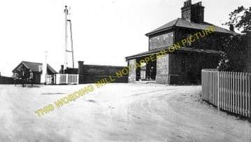 Belton & Burgh Railway Station Photo. Great Yarmouth - St. Olaves. (1)..
