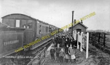 Belton Railway Station Photo. Epworth - Crowle. Haxey to Reedness. (2)