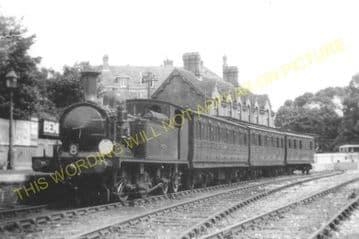 Bembridge Railway Station Photo. St. Helens and Brading Line. Isle of Wight (12)