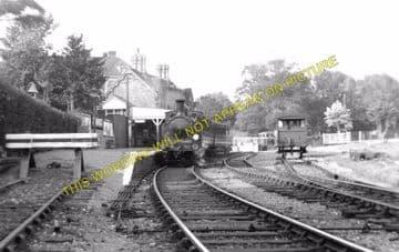 Bembridge Railway Station Photo. St. Helens and Brading Line. Isle of Wight (2)