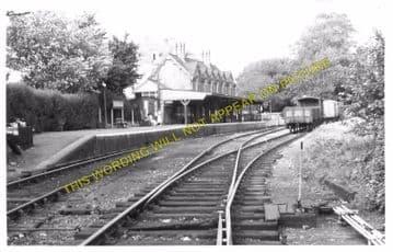 Bembridge Railway Station Photo. St. Helens and Brading Line. Isle of Wight (6)
