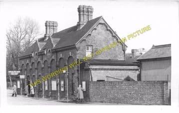 Bembridge Railway Station Photo. St. Helens and Brading Line. Isle of Wight (7)