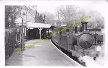 Bembridge Railway Station Photo. St. Helens and Brading Line. Isle of Wight (8)