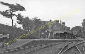 Bembridge Railway Station Photo. St. Helens and Brading Line. Isle of Wight (9)