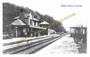 Benderloch Railway Station Photo. Connel Ferry - Creagan. Appin Line. (1)..