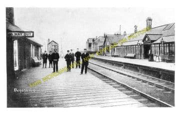 Bensham Railway Station Photo. Newcastle - Low Fell. Lamesley & Birtley Line (1)..