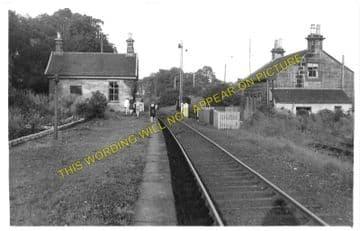 Bents Railway Station Photo. Fauldhouse to Whitburn and Addiewell Lines. (1)