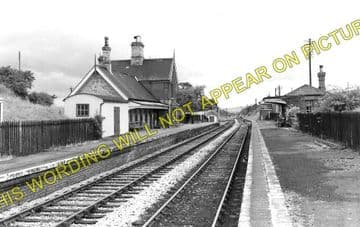 Berrington Railway Station Photo. Shrewsbury - Cressage. Buildwas Line. GWR (1)