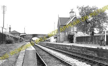 Berrington Railway Station Photo. Shrewsbury - Cressage. Buildwas Line. GWR (2)