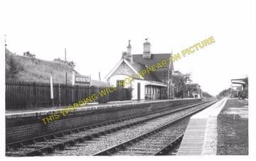 Berrington Railway Station Photo. Shrewsbury - Cressage. Buildwas Line. GWR (6)