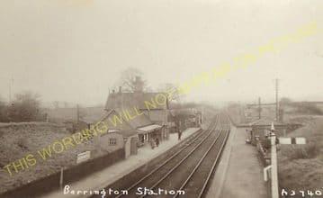 Berrington Railway Station Photo. Shrewsbury - Cressage. Buildwas Line. GWR (8)