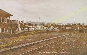 Bervie Railway Station Photo. Gordoun, St. Cyrus and Montrose Line. (6)