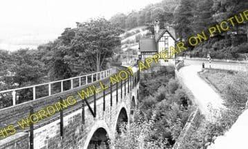 Berwyn Railway Station Photo. Llangollen - Glyndyfrdwy. Trevor to Carrog. (3)