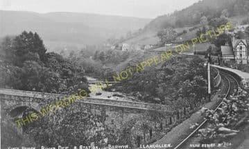 Berwyn Railway Station Photo. Llangollen - Glyndyfrdwy. Trevor to Carrog. (7)