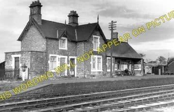Bettisfield Railway Station Photo. Fenn's Bank -Welshampton. Ellesmere Line. (1)